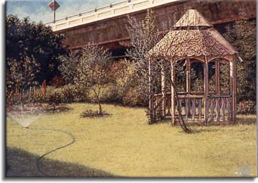The Gazebo, a painting by Janet Kruksamp